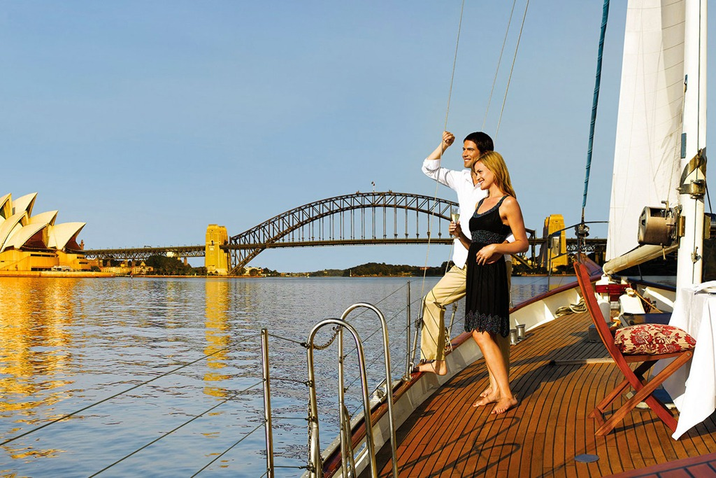Sydney Private Yacht Romance